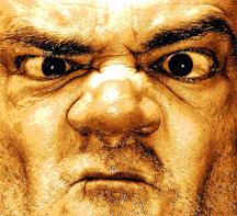 Angry customer complaintface